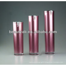 50ml round acrylic airless bottles