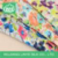 lady dress material polyester printed chiffon fabric
