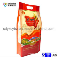 Rice Handle Plastic Packaging Bagbag of Food Grade