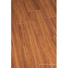 Hogar 8,3 mm E1 HDF en relieve Nogal U-Grooved piso laminado
