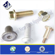 SAE high tensile special bolts for auto TS16949 ISO9001 WITH PPAP