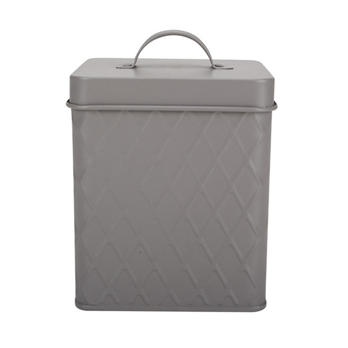 Galvanized Food Canister