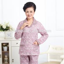 Высокое качество дешевые теплой Пижамная костюм женский оптом