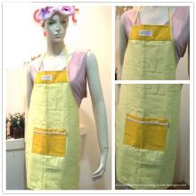 """Logotipo personalizado 100% algodão cozinhar avental """"Cottonapron"""