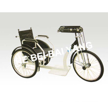 D-92 Black Manual Foldable Tricycle for Old People