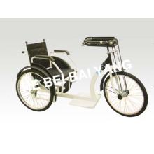 D-92 Черный ручной складываемый трицикл для старых людей
