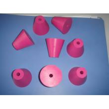 EPDM de encargo, silicón, enchufe de goma del neopreno con el agujero adentro