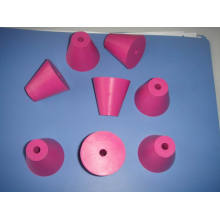 Custom EPDM, Silicone, Neoprene Rubber Plug with Hole Inside
