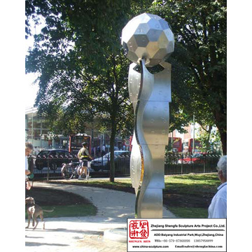 Carving Natural Stainless Steel Sculpture