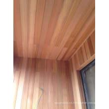 Tableros de techo de madera de cedro rojo Elegent