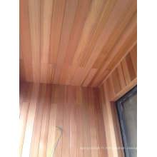 Panneaux de plafond en bois de cèdre rouge Elegent