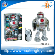 New battery operated walking and fighting intelligent robot