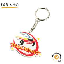 3D Embossed Customised PVC Keyrings for Wholesale Ym1113