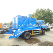 dongfeng 4x2 under-ground bin lifter garbage truck 10 tons