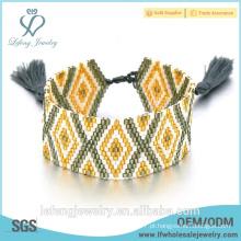 Handmade boêmio jóias colorido boêmio estilo amizade pulseira