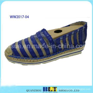 Hochwertige Spitzenmaterialien verursachende Schuhe mit Hanfseil