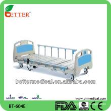 Lit de soins infirmiers à trois fonctions et superbe, mobilier d'hôpital, pièces de lit d'hôpital