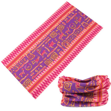 Écharpe de chamois multifonctionnelle de style sans couture imprimée sur mesure