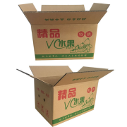 Corrugated box special hard fruit packaging box.