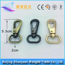 Beijing hot selling brass metal swivel snap hook big snap hook