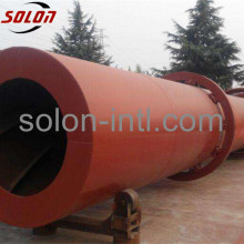 Small Rotary Drum Dryer for four heads pallet