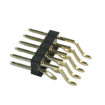 Angle de broche 1.27mm, double rangée, type d'angle SMT