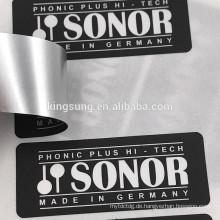 Umweltfreundliche Papier / PVC / PET Material Festplatte weiß Etiketten Aufkleber
