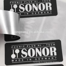Etiqueta engomada duradera de las etiquetas del blanco del disco duro del papel / del PVC / del ANIMAL DOMÉSTICO