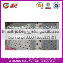 Tela de sábana estampada de algodón de fabricante de muestras gratis