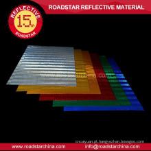 Colorido imprimível película reflexiva para sinalização