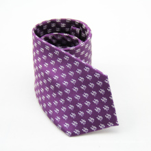Hight Quality Polka Dots Diamond Shape Men's Slim Silk Tie