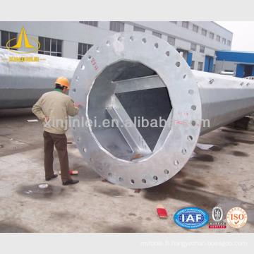 Pôle tubulaire en acier
