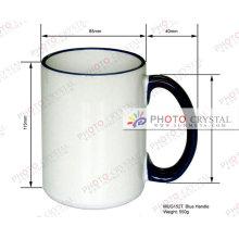 Taza de cerámica en blanco de sublimación