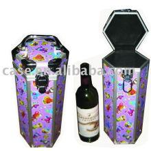 Caja de aluminio vino