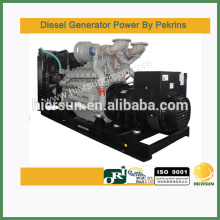 AC three phase output type 800kw Powered by perkins diesel generator set
