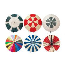 24 costelas guarda-chuva reto manual com desenhos diferentes (YS-R1082R)
