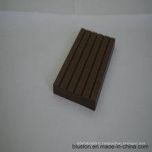 WPC Sauna Board WPC Decking Decking-terrasse en plastique en bois