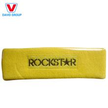 Headband personalizado de algodão promocional e bandana de basquete