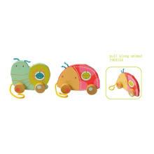 Wooden Pull und Push Spielzeug Holz Pull Toy für Kinder