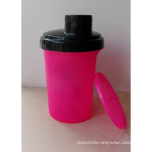 500ml Shaker Bottle with Strainer