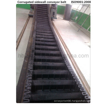 Wk60 Cleated Sidewall Clapboard Conveyor Belt
