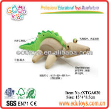 Animal de jouet en bois - Crocodile à jouets