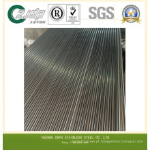 Tubo sem costura de aço inoxidável ASTM 347H