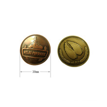 Wholesale Producer Zinc Alloy Brass Plated Customized Metal Label