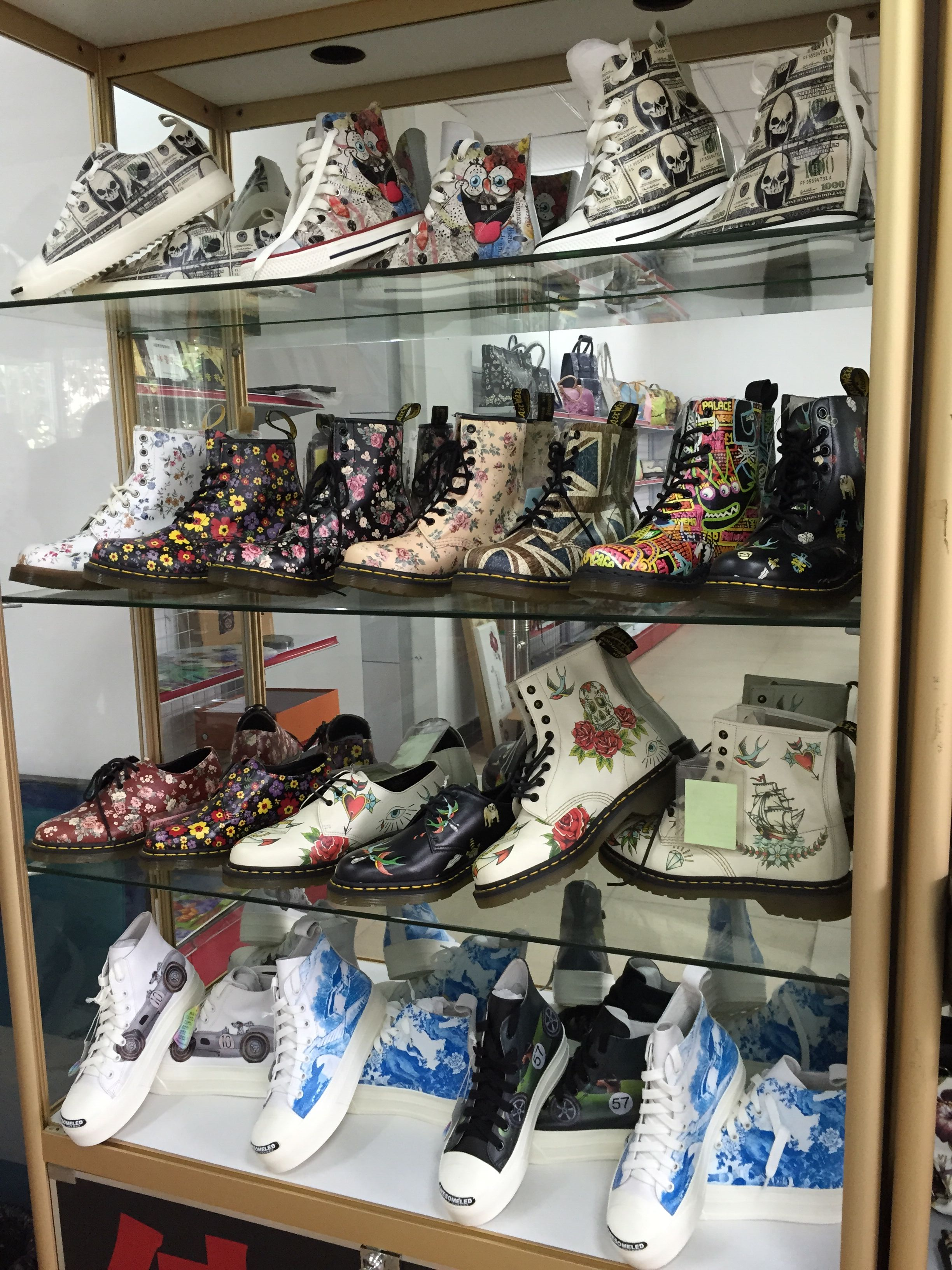 digital printed shoes
