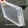 JINBAO sanitary grade easy washing clear color milk 3mm acrylic sheet