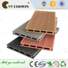 Wood plastic composite interior or indoor wpc decking flooring