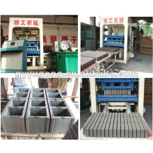 Yugong QT 10-15 Bloque de cemento que hace la máquina con buena reputación