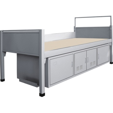 Skolan Single Metal Bed