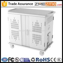 zmezme trade assurance storage storage y estación de carga / armario de carga móvil para notebook con tomacorrientes USB hub